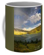 Homeground Rainbow Landscape Coffee Mug