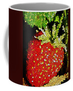Homegrown Strawberry Mosaic Coffee Mug