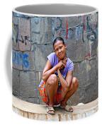 Homeless In Indonesia Coffee Mug