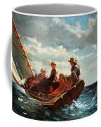 Homer's Breezing Up -- A Fair Wind Coffee Mug