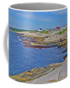 Homes Across Peggy's Cove-ns Coffee Mug