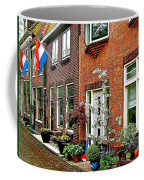 Homes Along The Canal In Enkhuizen-netherlands Coffee Mug