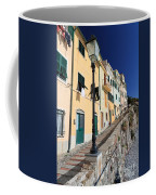 Homes In Bogliasco Coffee Mug