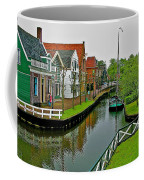 Homes Near The Dike In Enkhuizen-netherlands Coffee Mug