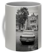 Hometown Usa Platium Print Coffee Mug