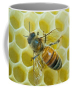 Honey Bee In Hive Coffee Mug