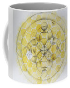 Honey Bee Mandala Coffee Mug