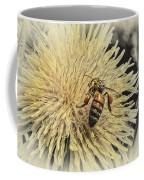 Honey Bee Meets Dandy Lion Coffee Mug