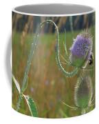 Honey Bee Picks Up Pollen Coffee Mug