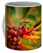 Honey Bee Profile Coffee Mug