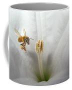 Honey Bee Up Close And Personal Coffee Mug