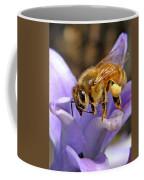 Honeybee On Hyacinth Coffee Mug