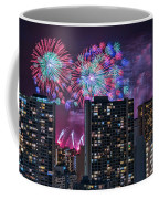 Honolulu Festival Fireworks Coffee Mug