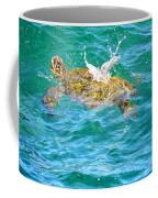 Honu Hawaiian Green Sea Turtle Coffee Mug