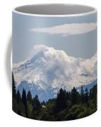 Hood In The Clouds  Coffee Mug