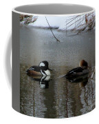 Hooded Merganser Mates Coffee Mug
