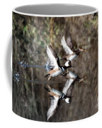 Hooded Merganser Mirror Coffee Mug