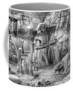 Hoodoos Bisti/de-na-zin Wilderness Monochrome Coffee Mug