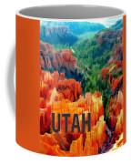 Hoodoos In Bryce Canyon Utah Coffee Mug