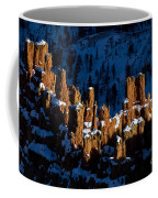 Hoodoos In Shadows Bryce Canyon National Park Utah Coffee Mug