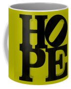 Hope In Yellow Coffee Mug