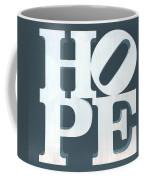 Hope Inverted Denim Coffee Mug