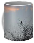 Hope Perched  Atop Coffee Mug by Sonali Gangane