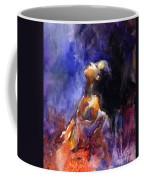 'hope' Woman Portrait  Coffee Mug
