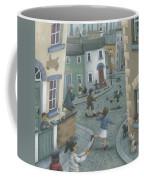Hopscotch Down The Hill Coffee Mug