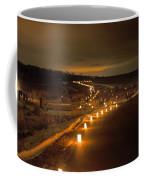 Horicon Marsh Candlelight Snow Shoe/hike Coffee Mug