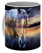 Horse 6 Coffee Mug by Mark Ashkenazi