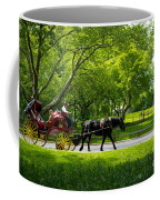 Horse And Carriage Central Park Coffee Mug