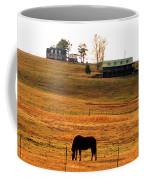 Horse And Farm By Jan Marvin Coffee Mug