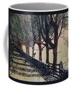 Horse And Fence Coffee Mug