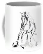 Horse- Andalusian Angel Coffee Mug by Go Van Kampen