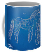 Horse Automatic Toy Patent Artwork 1867 Coffee Mug by Nikki Marie Smith