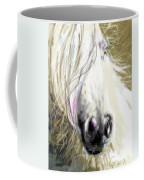 Horse Blowing In The Wind Coffee Mug