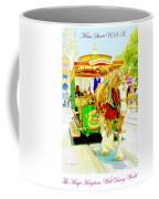 Horse Drawn Trolley Car Main Street Usa Coffee Mug