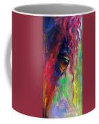 Horse Eye Portrait  Coffee Mug by Svetlana Novikova