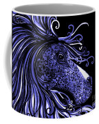 Horse Head Blues Coffee Mug
