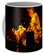 Horse In The Fire Coffee Mug