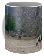 Horse In The Mist Coffee Mug