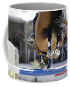 Horse Jumping Coffee Mug