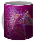 Horse Of Fire Coffee Mug