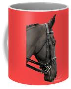 Horse On Red Coffee Mug