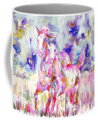Horse Painting.16 Coffee Mug