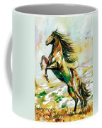 Horse Painting.25 Coffee Mug