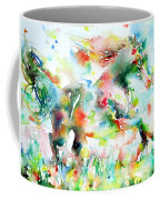 Horse Painting.36 Coffee Mug