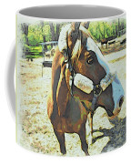 Horse Point Of View Coffee Mug