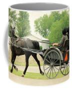 Horse Powered Transportation Coffee Mug